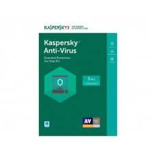 Antivirus Kaspersky 2017 3-DS 1 Year Box
